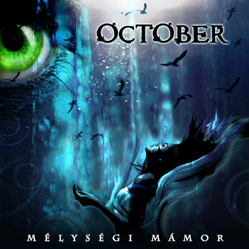 October Mélységi mámor CD cover