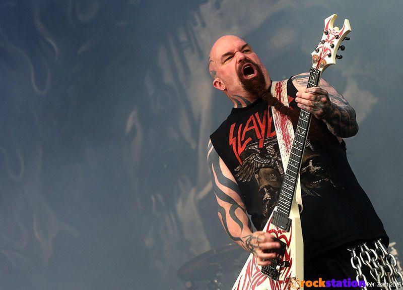Csak a szokásos Slayer, Kerry Kinggel - Rock In Vienna fesztivál, Bécs
