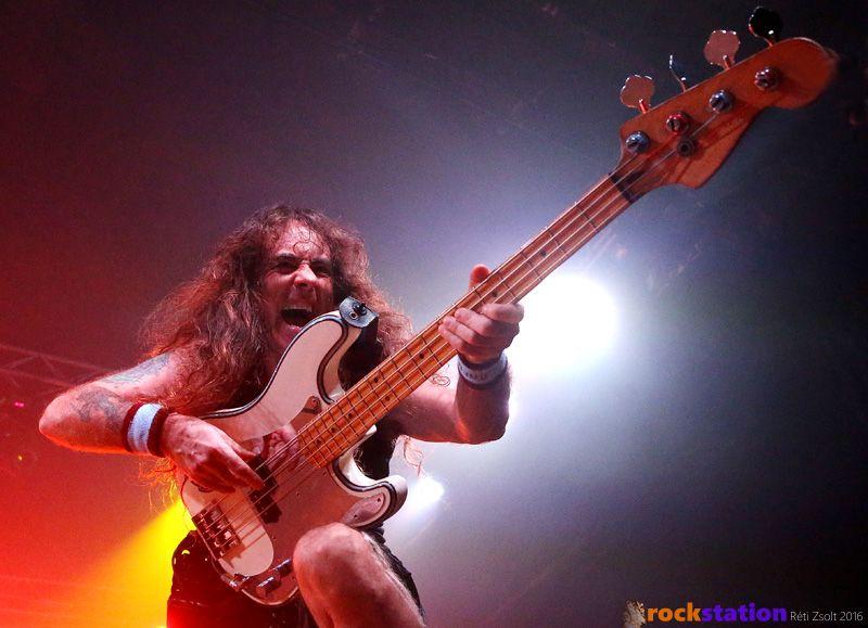 Az Iron Maiden legendája Steve Harris British Lion nevű zenekarával ellátogatott Budapestre