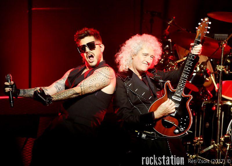 Brian May & Adam Lambert / Queen + Adam Lambert @ Budapest SportAréna, november 4.
