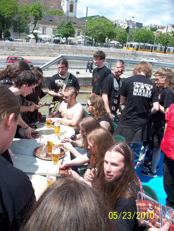 Sabaton Battleship @ Metalfest 2010, Budapest