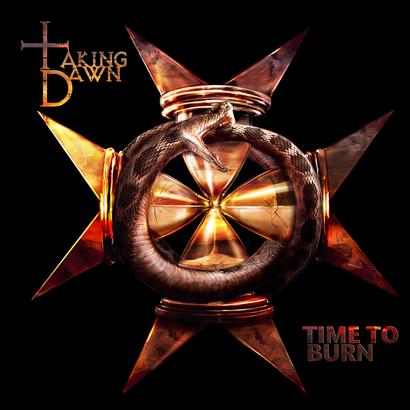 Taking Dawn - Time To Burn cover