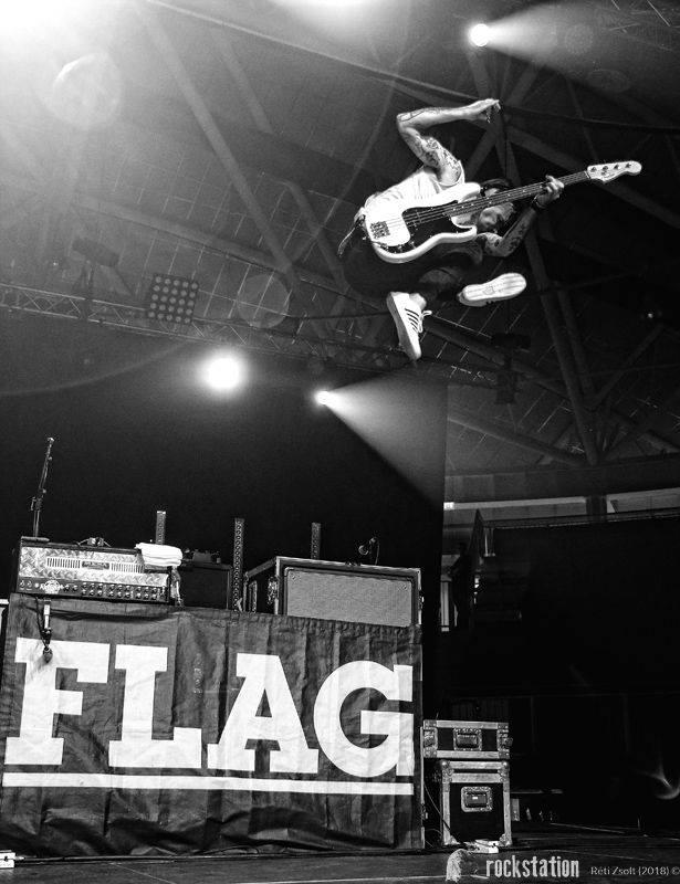 Anti-Flag @ Tüskecsarnok, 2018.06.12.