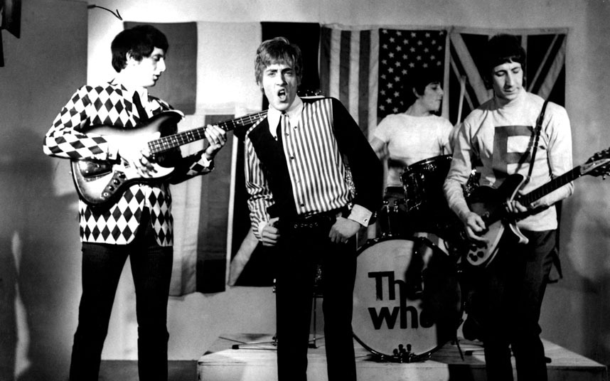 4. The Who (126 dB)