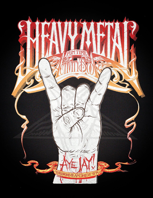 Heavy metalos rejtvénykönyv