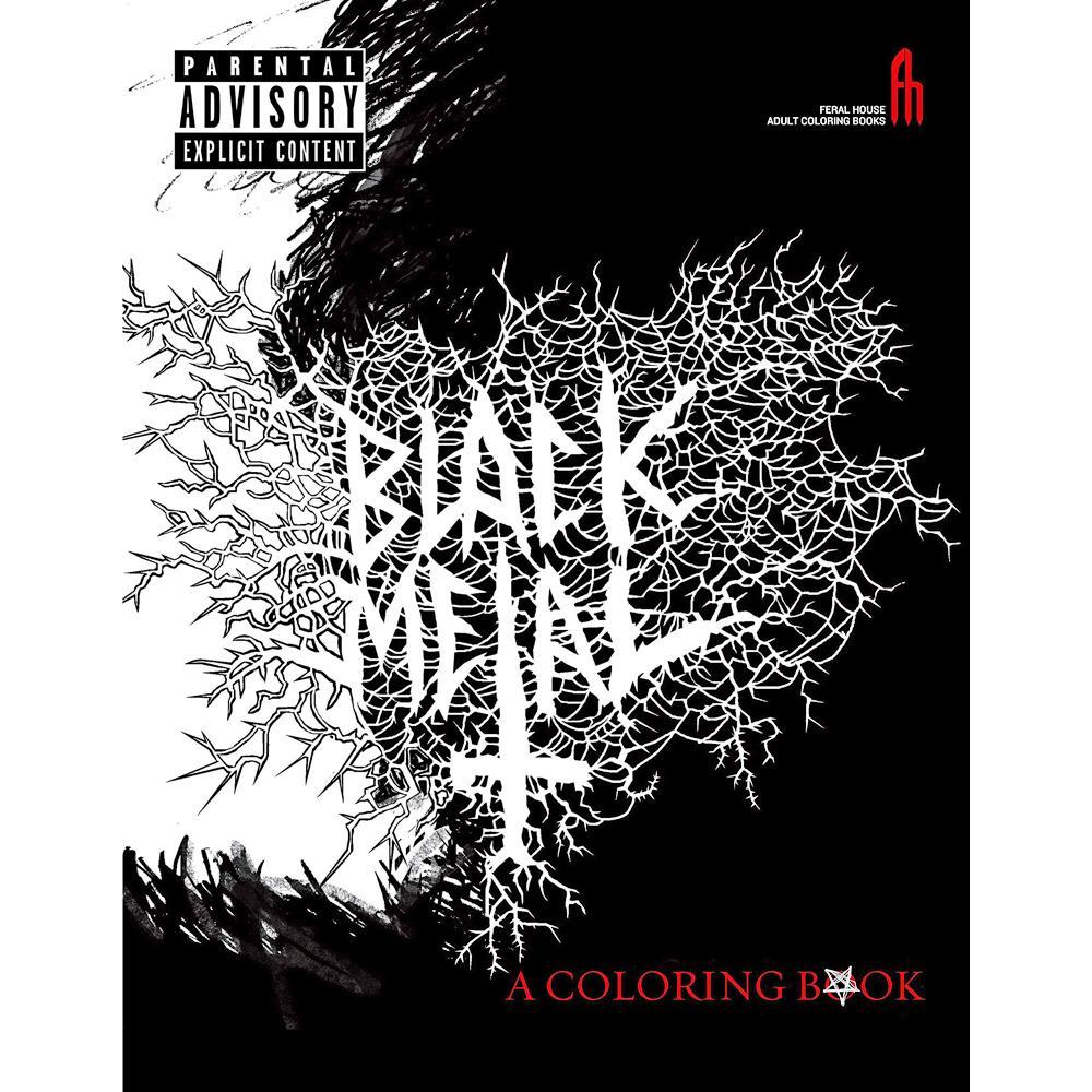 Black metalos kifestő