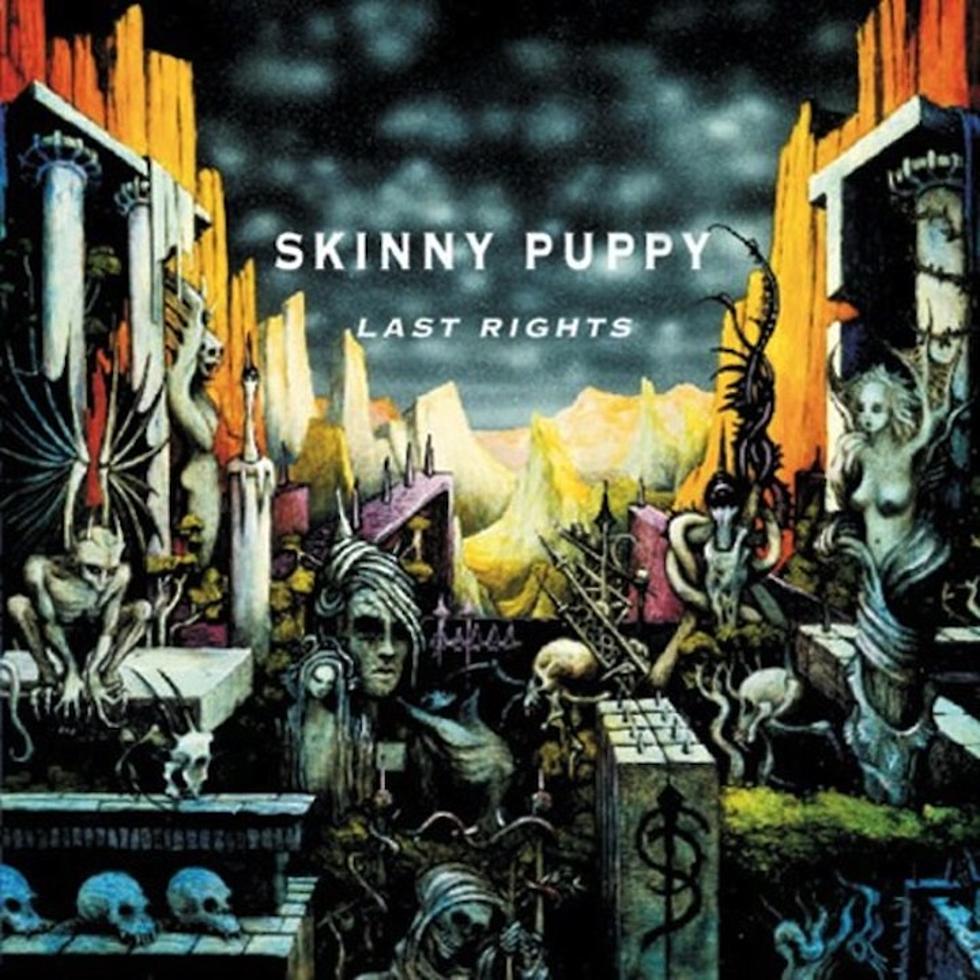 Skinny Puppy - Last Rights<br /><br />Nem metal, de industrial, hát, már-már határeset. De ez a kép akár még doom is lehetne, vagy kis túlzással valami stoner, esetleg black metal is.