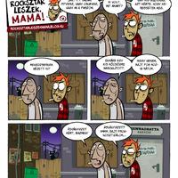 Rocksztár leszek, Mama! - 2x12 - Baljós árnyak
