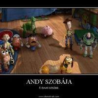 Andy szobája 5 évvel később
