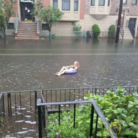 Irene hurrikán után