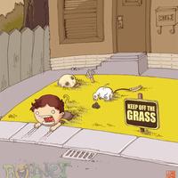 Ne lépj a fűre