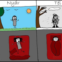 Nyár-tél különbség