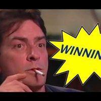 Charlie Sheen auto tune-olva + Obama