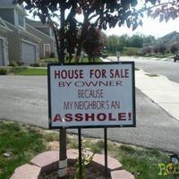 A ház eladó...