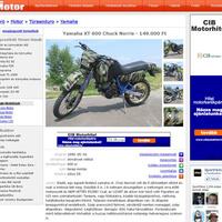 Chuck Norris motorja eladó!
