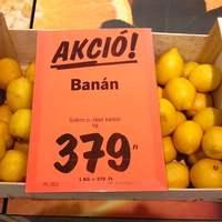 Citromízű banán