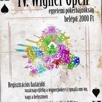 IV. Wigner Open Pókerbajnokság