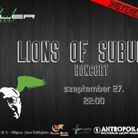 Lions of Suburbia Koncert @ Roller Club 09.27.