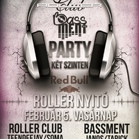 Roller Club vs. Bassment @Wigner 02.05.