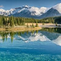 Kanada meghódítása első rész, Glacier és Banf