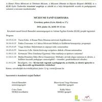 Múzeumi Tanévzáró meghívó