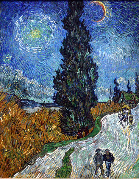 467px-Van_Gogh_-_Country_road_in_Provence_by_night.jpg
