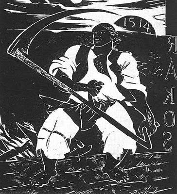 Derkovits Gyula_1928_Dózsa-sorozat_IV. Felkelő paraszt_487x440_fametszet.jpg