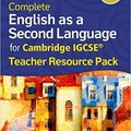 ^HOT^ English As A Second Language For Cambridge IGCSERG: Teacher Resource Pack. research Brand Adreca Ferreira reach
