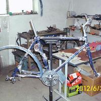 Bicikli felújítás, avagy Hercules új élete 4. rész