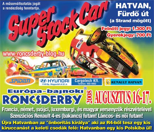 Stock car Hongrie