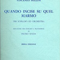 ??REPACK?? Quando Incise Su Quel Marmo (When Engraved On The Marble) For Soprano And Orchestra; Soprano With Piano Reduction [Sheet Music] (B. S., 1013). Extra llamado Magnetic Senator National