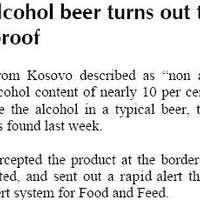 Igyatok albán sört!