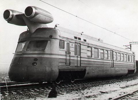Sugárhajtóműves vonat