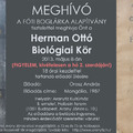 MEGHÍVÓ a HERMAN OTTÓ BIOLÓGIAI KÖR májusi ülésére