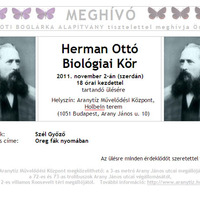 Herman Ottó Biológiai Kör - Szél Győző: Öreg fák nyomában