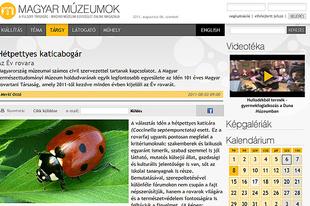 Sajtófigyelő: Merkl Ottó cikke a Magyar Múzeumok.hu honlapon.