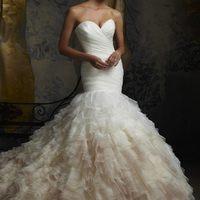 Top 5 sellő fazonú menyasszonyi ruha