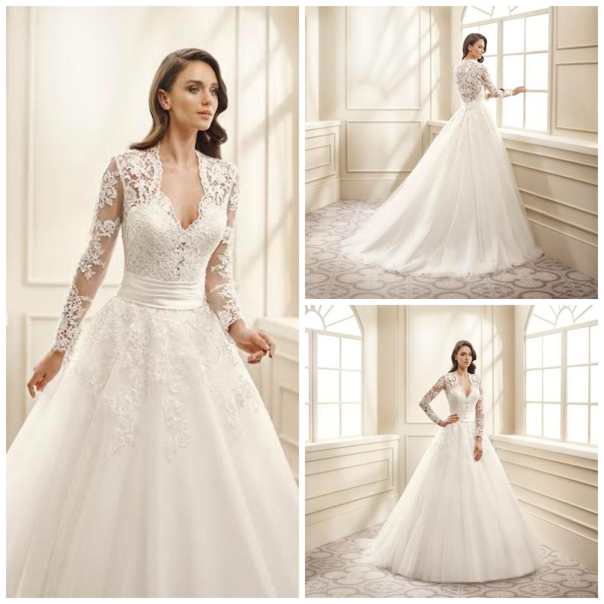 12dfcd9655 Top 5 gyönyörű 2016-os esküvői ruha - Királynő vagy, mi bebizonyítjuk!