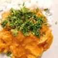 Kókusztejes csirke curry