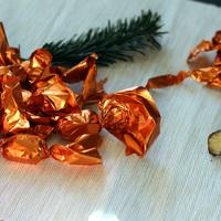Narancsos-marcipános szaloncukor házilag