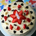 Epres-citromkrémes-mascarponés torta
