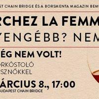 Cherchez la femme, avagy nőnapi borkóstoló csak borásznőkkel
