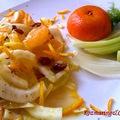 Szicíliai édesköményes citrussaláta - a legjobb saláta, amit valaha ettem
