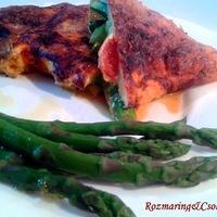 Zöld spárgás-koktélparadicsomos omlett