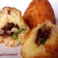Arancino, a szicíliai húsos rizslabda