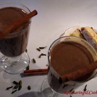 Húsvéti maradékfeldolgozás 1.: kakaó húsvéti csokifigurákból - fahéjjal, szegfűszeggel, kardamommal -