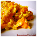 Sütőtökös-mascarponés risotto