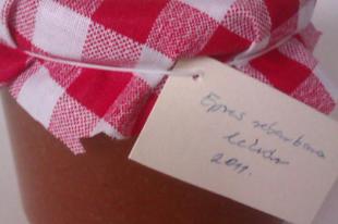 Lekvárok nagymamám kamrájából 2.: Epres rebarbara lekvár