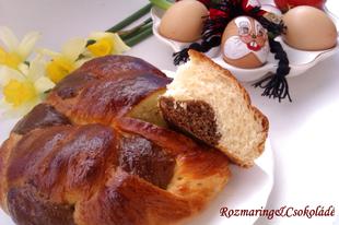 Brioche di Pasqua márványosan (az olaszok húsvéti kalácsa) - KELLEMES HÚSVÉTI ÜNNEPEKET