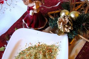 Advent 2013. - Vegeta - és egyéb fűszerkeverékek - házilag - kézzel készített karácsonyi ajándék 1.
